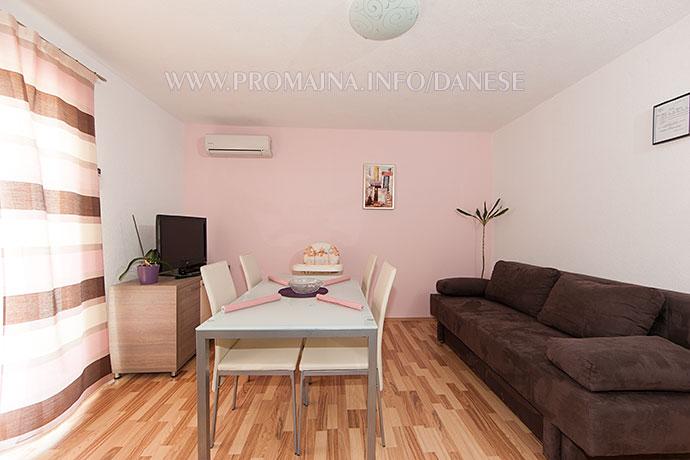 2: A3+2 - apartments Danese - Promajna, Makarska, Dalmatia
